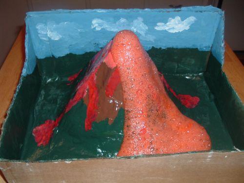 Erupting Volcano Project